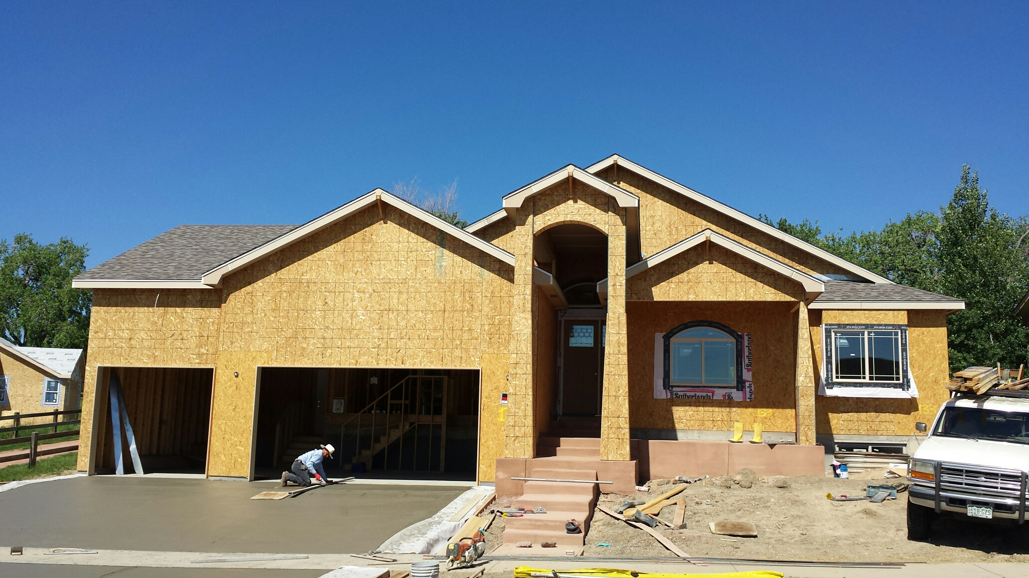 R r homes builder update on the northern colorado new home for Building a house in colorado